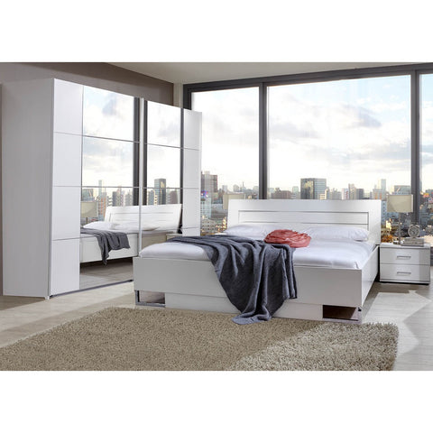 ASSEMBLY INCLUDED Qmax 'Davina' German Bedroom Furniture. White., [product_variation] - Freedom Homestore