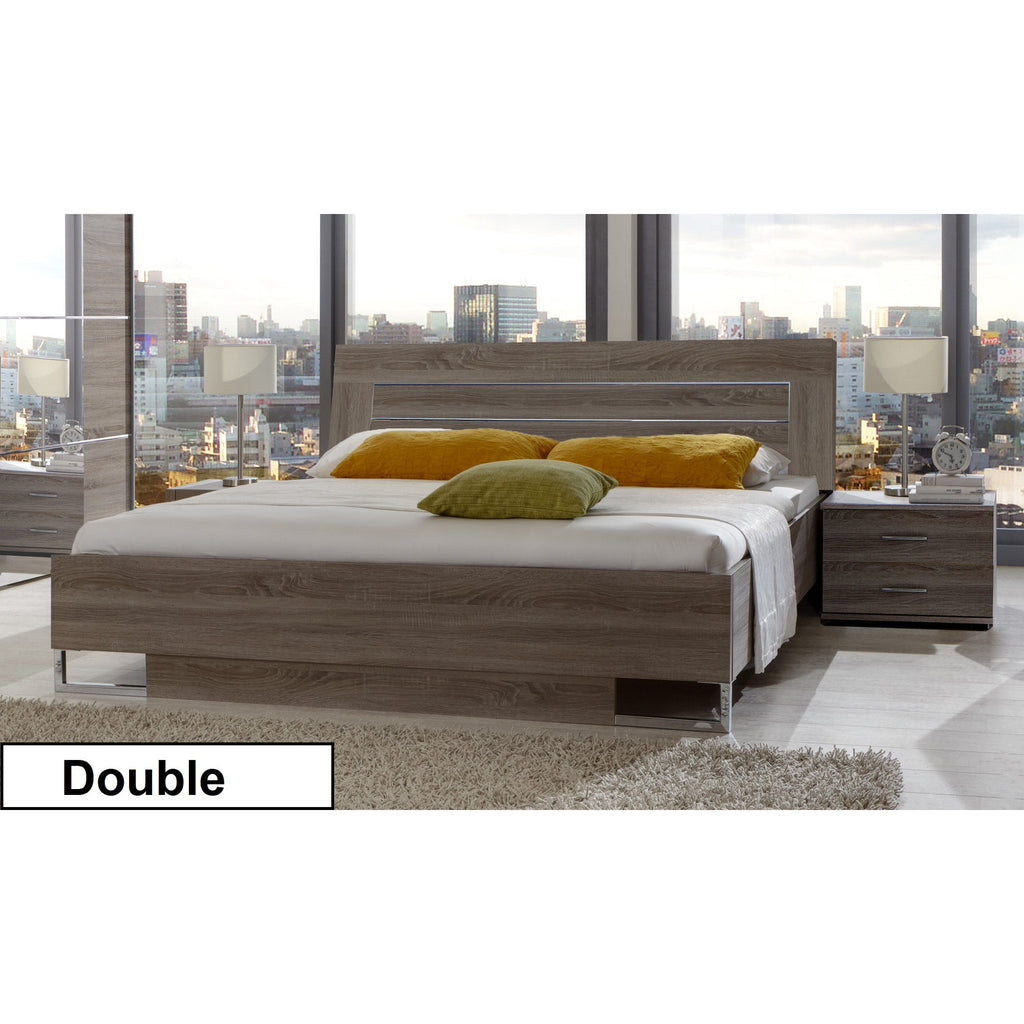 Qmax 'Davina' Range German Made Bedroom Furniture. Dark Oak., [product_variation] - Freedom Homestore