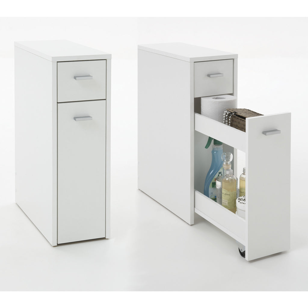 Denia Genius Slim Bathroom Kitchen Slide Out Storage