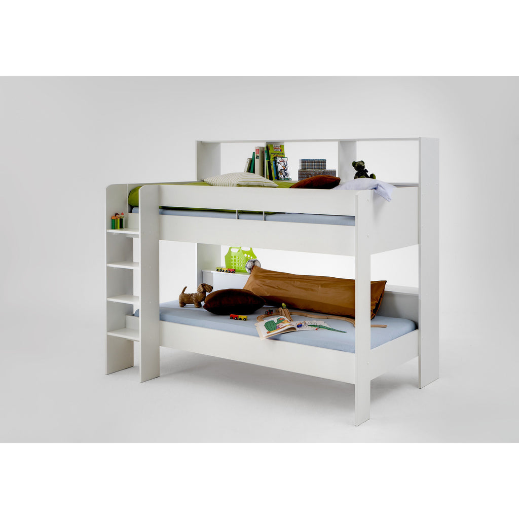 """Emili"" Childrens / Kids Bunk Beds. Twin or Single With Desk & Dresser., [product_variation] - Freedom Homestore"
