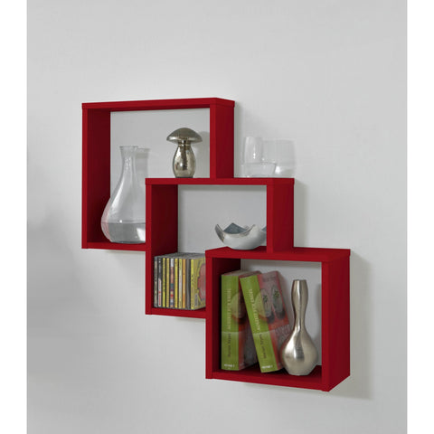 """Fibi"" Staggered Wall Display Shelving. Decorative Designer Wall Shelf., [product_variation] - Freedom Homestore"