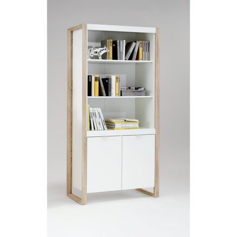 'Frame'  Matching Furniture Range. White With Oak Frame Design., [product_variation] - Freedom Homestore