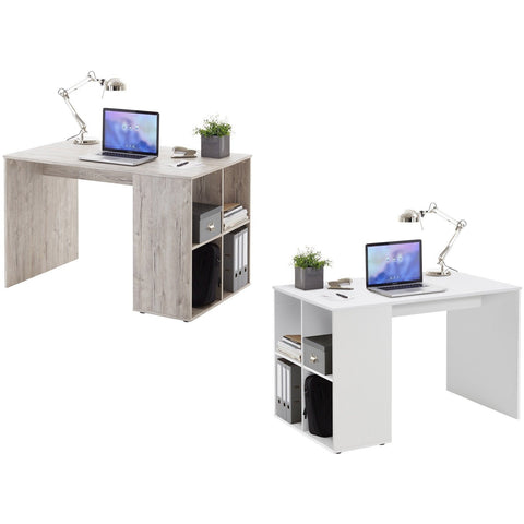 'Guy' Versatile Medium Computer/PC Desks With Integrated Storage Shelving, [product_variation] - Freedom Homestore