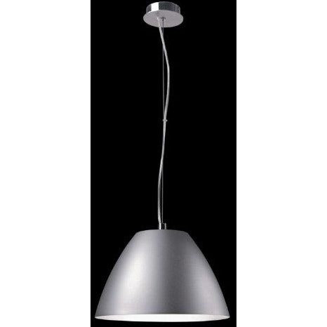 Sompex 'Gini' Height-Adjustable Black Aluminium & Chrome Ceiling Pendant Light