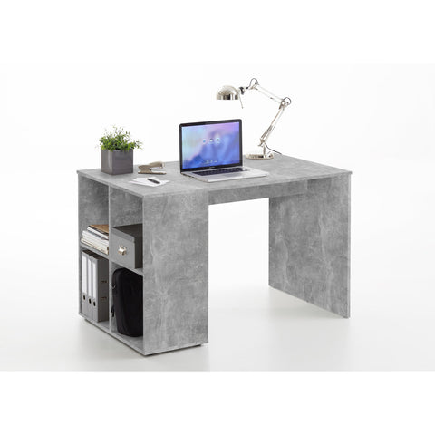 'Guy' Versatile Medium Computer/PC Desks With Integrated Storage Shelving