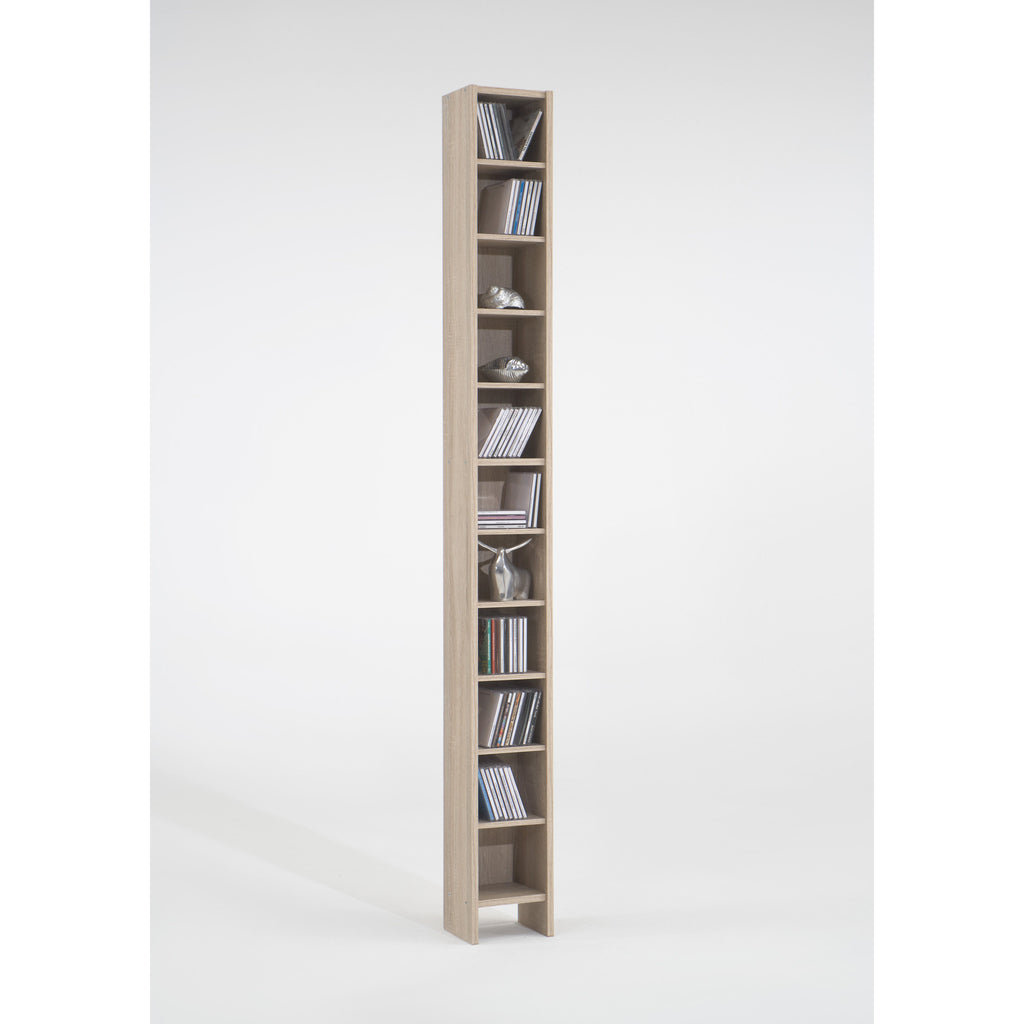 Hallo Tall CD & DVD Storage / Bookcase Tower Shelf, [product_variation] - Freedom Homestore