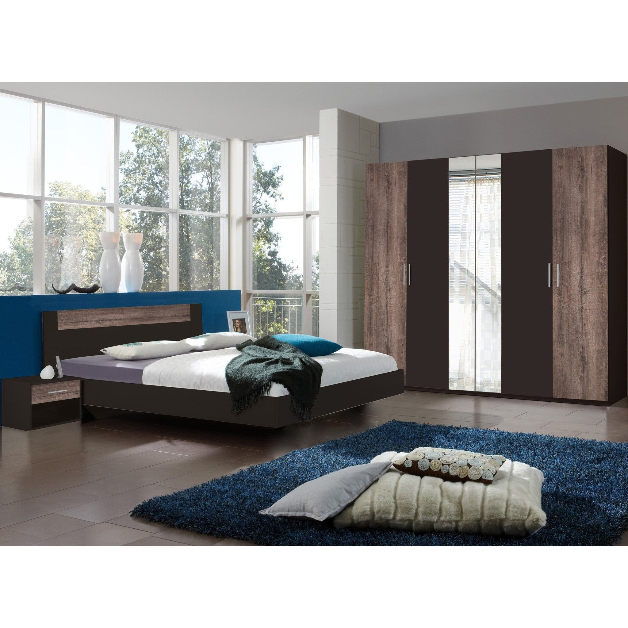 Qmax Liana Range German Made Bedroom Furniture Lava