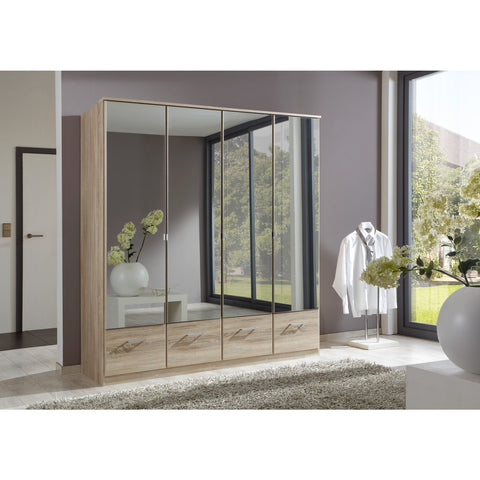 Qmax 'Imagine' Range. German Made Bedroom Furniture. Oak & Mirror, [product_variation] - Freedom Homestore