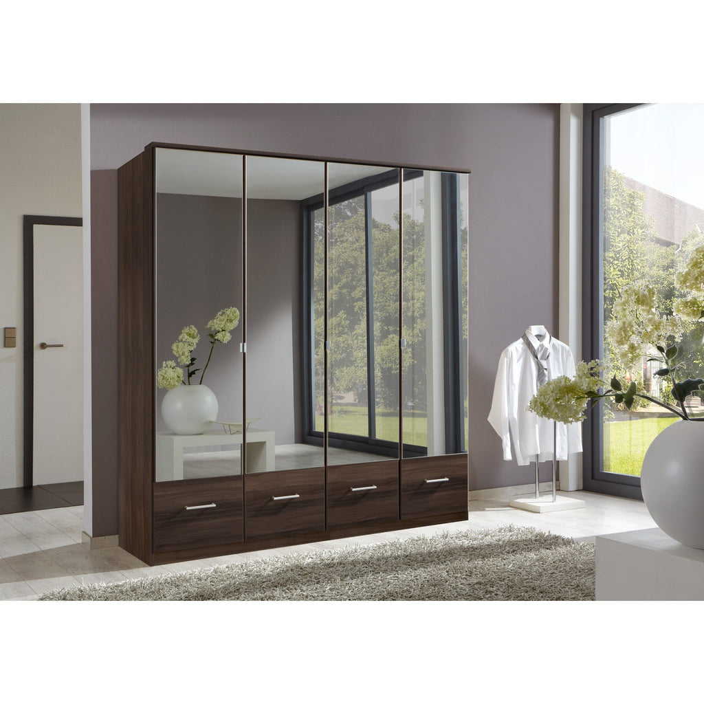 Qmax 'Imagine' Range. German Made Bedroom Furniture. French Polished Walnut, [product_variation] - Freedom Homestore