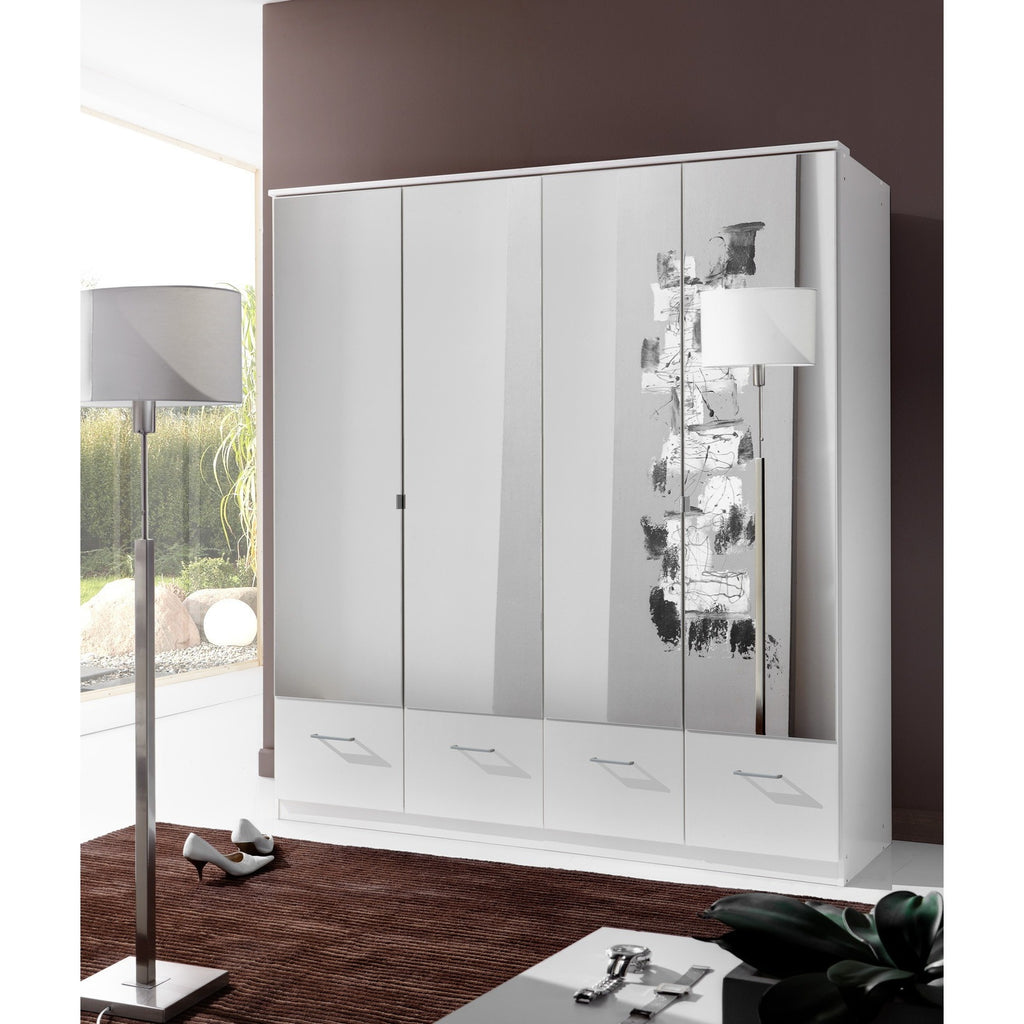 Qmax 'Imagine' Range. German Made Bedroom Furniture. Alpine White & Mirror, [product_variation] - Freedom Homestore