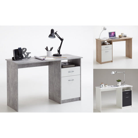 """Jackson"" Medium PC Desk Computer Table With Drawer & Cupboard"
