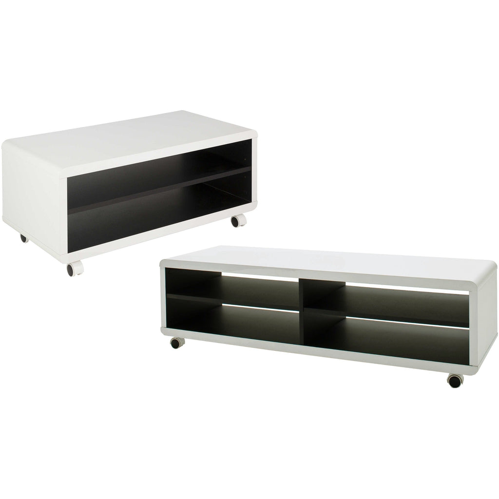 Lowboard Sideboard mca jeff tv stand lowboard sideboard media center table in two