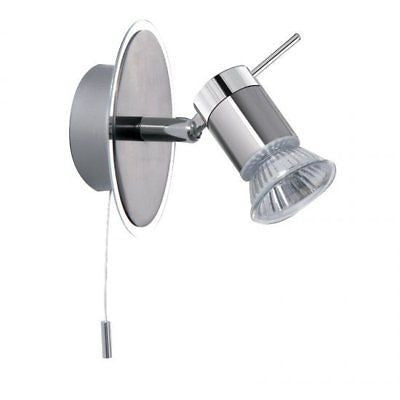 Searchlight 7441CC Bathroom Wall Spotlight in Chrome IP44, [product_variation] - Freedom Homestore