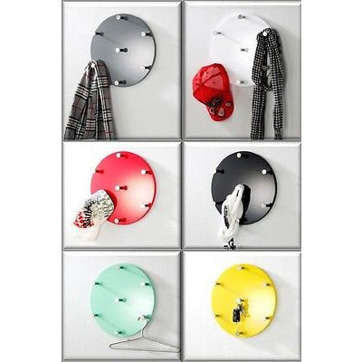Funky Colourful Circle Coat Stand / Hat Hook Racks., [product_variation] - Freedom Homestore