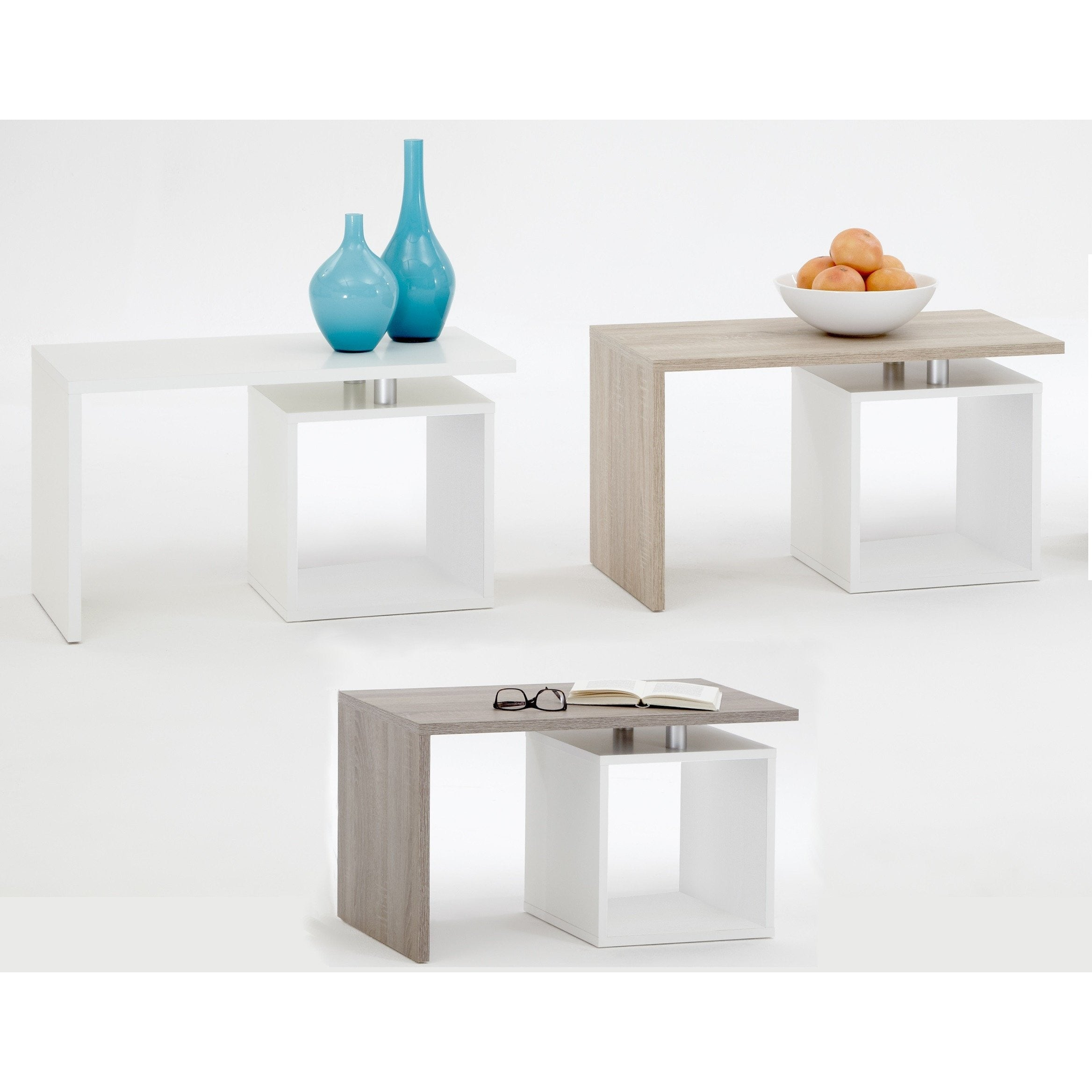 "klara"" Designer Coffee Side End Table Mega Range Hifi TV"