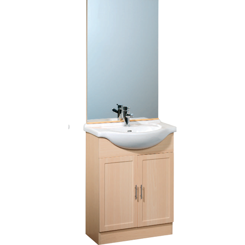 *Clearance* Roper Rhodes Meridian Bathroom Mirror. Beech, Over-Sink Mirror M62MB, [product_variation] - Freedom Homestore