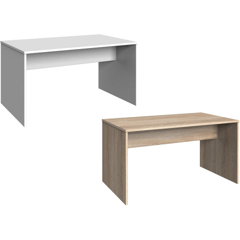 "Qmax ""Any-Room"" Range, Matching PC Desk / Dressing Table. White or Washed Oak."