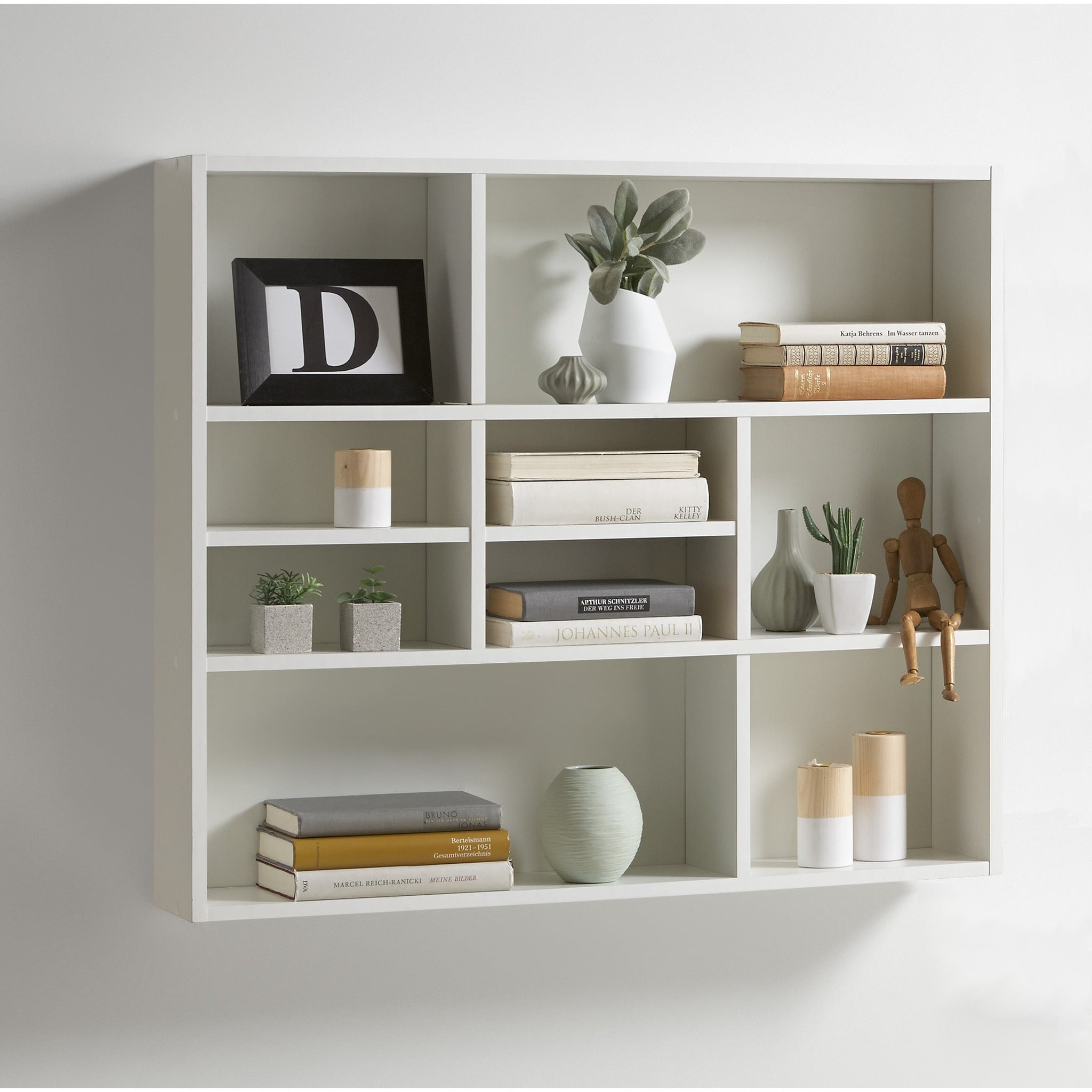 mika display shelving decorative designer wall shelf freedom homestore. Black Bedroom Furniture Sets. Home Design Ideas