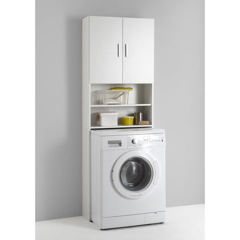 Standalone Kitchen Units. Washing Machine Cupboard. Laundry Cabinet Shelving.