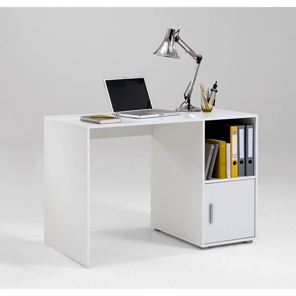 """Olga"" Range Basic PC Computer Desk / File Cabinet, With"