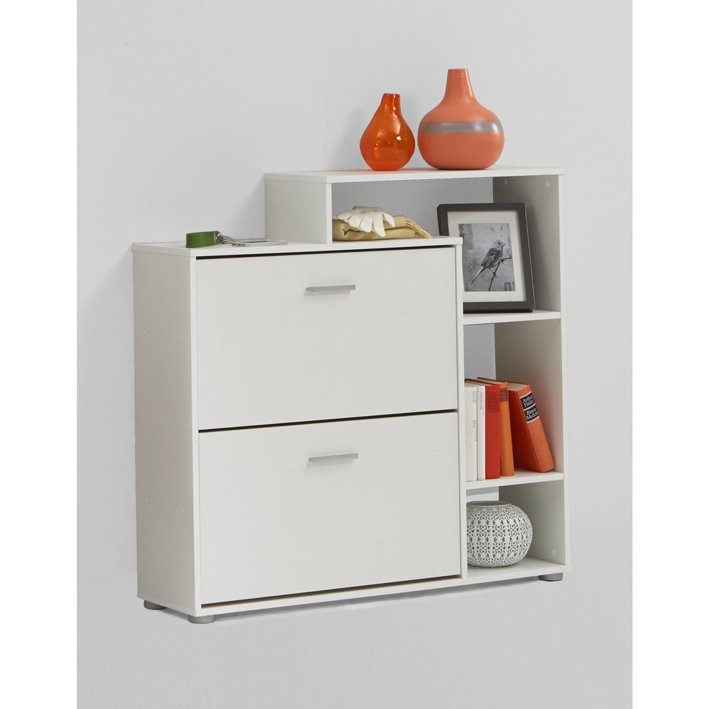 """Penny 99"" Hallway Shoe Storage Display Cabinet/Cupboard. Furniture Solution., [product_variation] - Freedom Homestore"