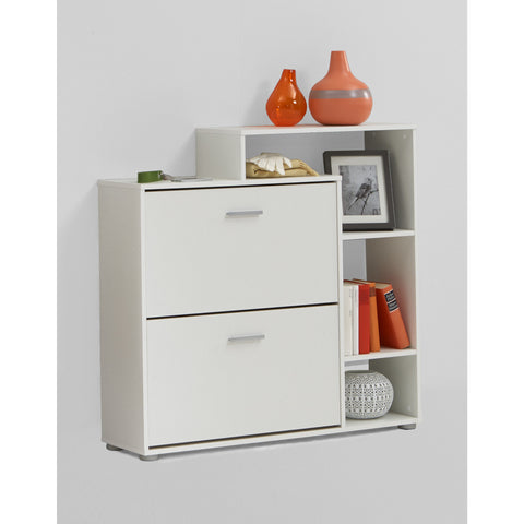 """Penny 99"" Hallway Shoe Storage Display Cabinet/Cupboard. Furniture Solution."