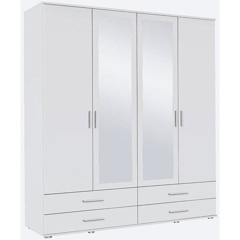 Rauch 'Rasant' 3 or 4 Door Wardrobe, White. German Bedroom Furniture., [product_variation] - Freedom Homestore