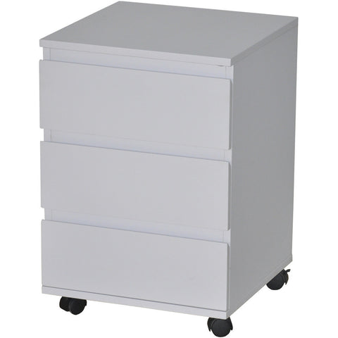 Under-Desk File Cabinet Drawer Chest. Matt Finish. 3-Drawer. Zi-Line, White at Freedom Homestore