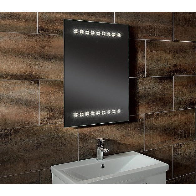 "Roper Rhodes ""Star"" MLE300. Designer LED Bathroom Mirror, Clarity Range, [product_variation] - Freedom Homestore"
