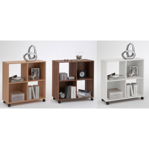 """Sprint"" Square Floor Shelf/Bookcase. Display Shelving. Mega Range"