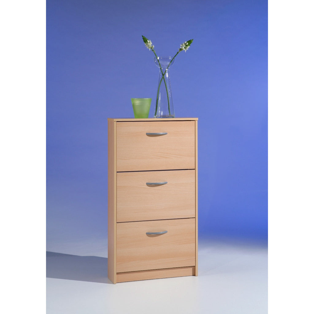 """Step"" Shoe Storage Cabinet/Cupboard Range. Shoe Rack Furniture Solution. Beech, [product_variation] - Freedom Homestore"