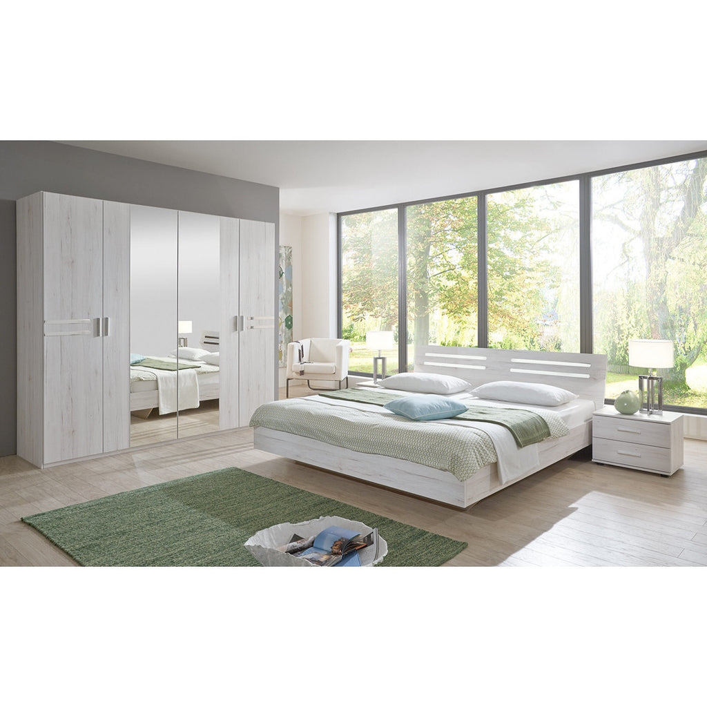 Qmax 'Suzie' Range. German Made Bedroom Furniture. White Oak., [product_variation] - Freedom Homestore
