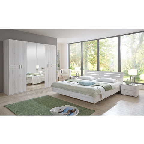 ASSEMBLY INCLUDED Qmax 'Suzie' Range. German Bedroom Furniture. White Oak., [product_variation] - Freedom Homestore