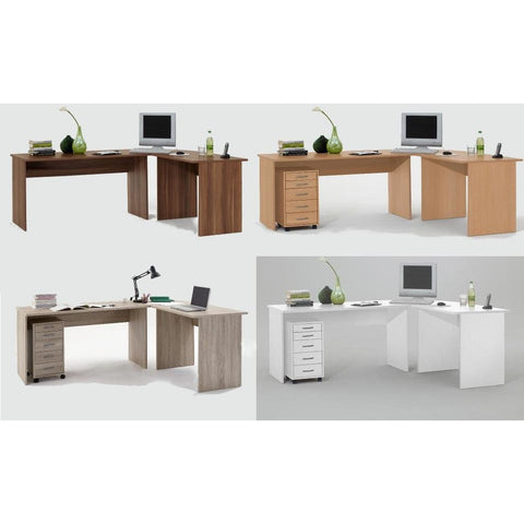 'Tillie' Range of Large Corner Fit Computer/PC Desks/Tables