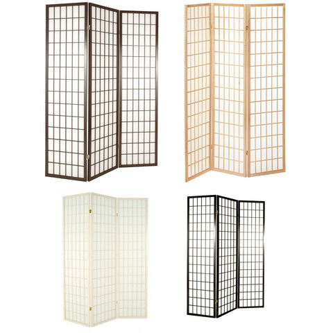 """Tokyo"" Japanese Style Room Divider Privacy Screen. Colour Choice"