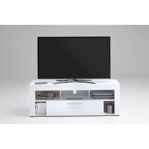 """Vibio"" High Gloss White TV Stand Entertainment Unit. Medium or Large., [product_variation] - Freedom Homestore"