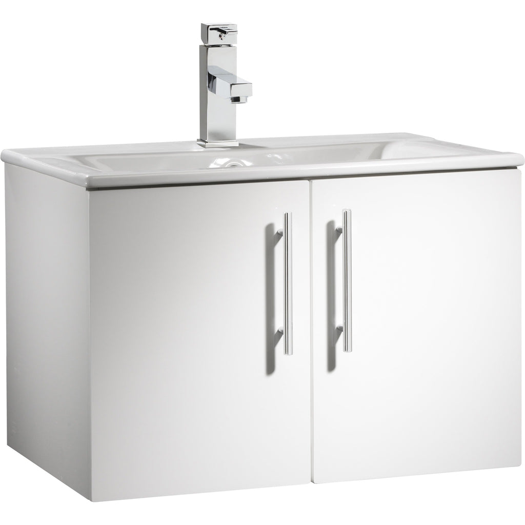 *Clearance* Roper Rhodes 'Viva' 600mm Wall Mounted Bathroom Vanity Unit With Sink., [product_variation] - Freedom Homestore