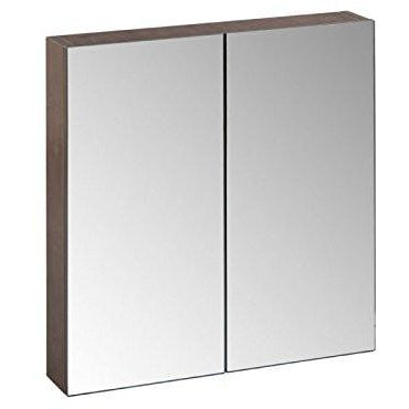 "Roper Rhodes (R2) ""Auxiliary"" 2-Door Mirror Bathroom Cabinet. AM6051.TF Truffle, [product_variation] - Freedom Homestore"