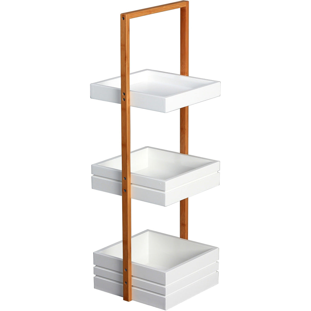 "Blue Canyon ""Bambus"" 3-Tier Bathroom Tidy Storage Shower Caddy BF14962, [product_variation] - Freedom Homestore"