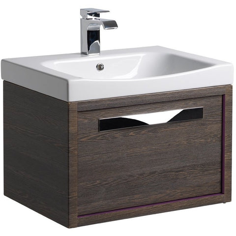 *Clearance* Roper Rhodes 'Breathe' Wall Mounted Bathroom Vanity Unit With Sink. BRE600MA