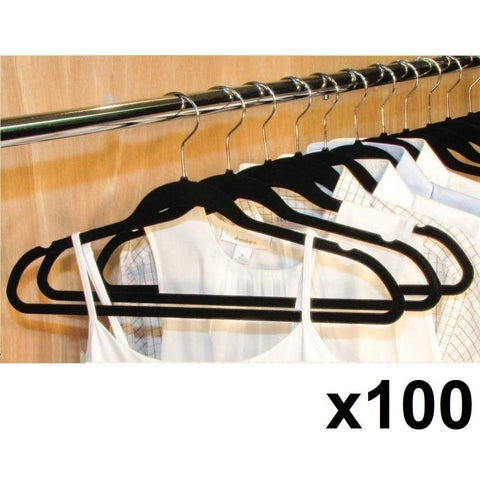 Space Saving Flocked Clothes Hangers. Huggable Grip. Non-Slip Hanger, [product_variation] - Freedom Homestore