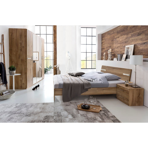Qmax 'City' Range German Made Bedroom Furniture. Naked / Plank Oak., [product_variation] - Freedom Homestore