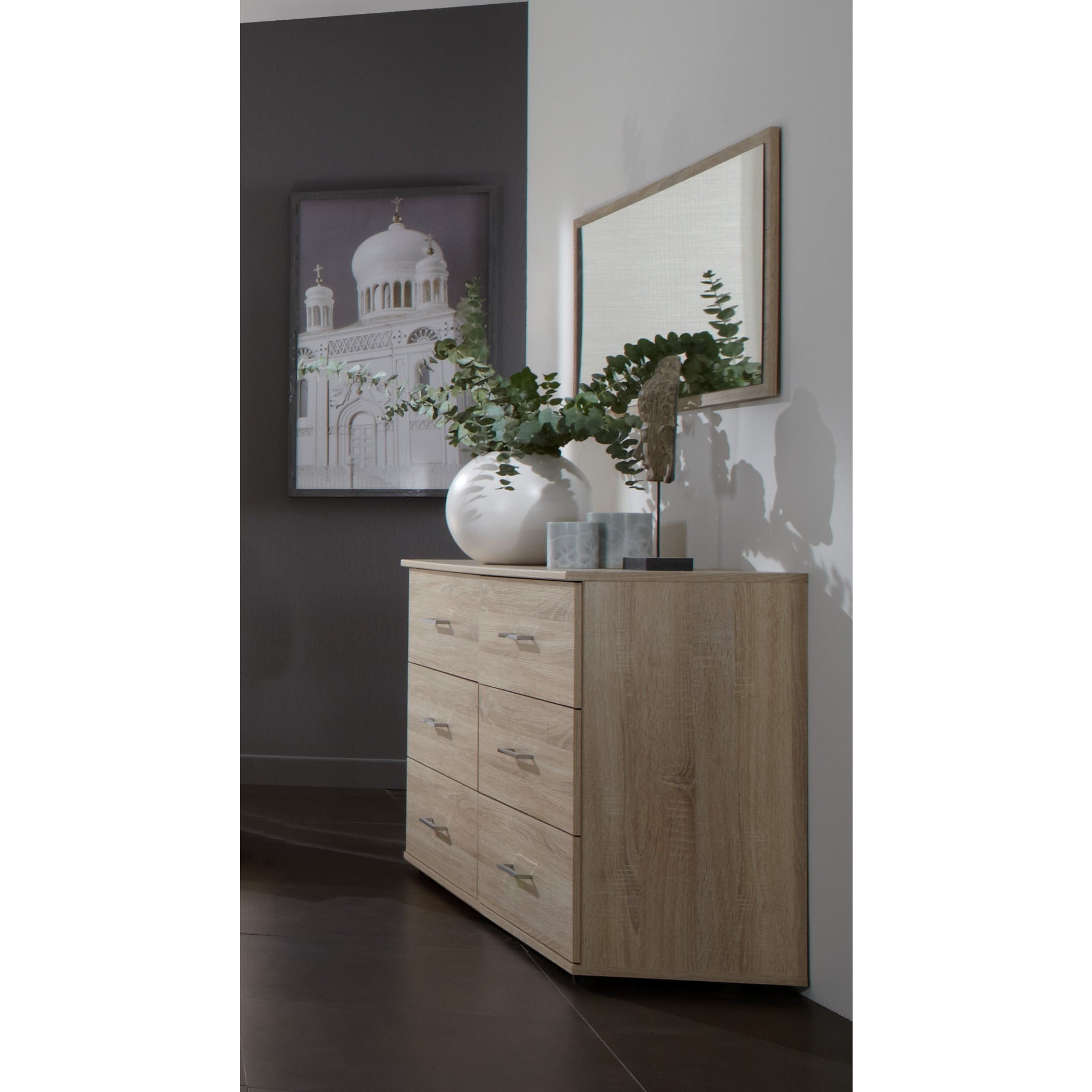Qmax German Bedroom Furniture Matching City Range Chest Of