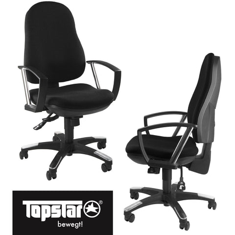 TopStar Premium Office Chair - Trend SY 10 - 9020AG20E - Upholstered Back, [product_variation] - Freedom Homestore