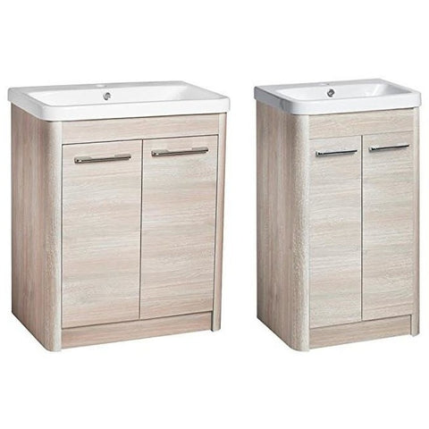 *Clearance* Roper Rhodes 'Contour' Floor Standing Bathroom Vanity Unit With Sink.