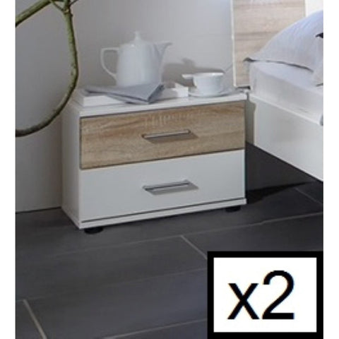 Qmax 'Town' Range. Integrated LED Lighting. German Made Bedroom Furniture., [product_variation] - Freedom Homestore