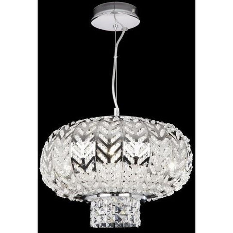 "Endon ""Fantasy"" Three Light Chrome and Crystal Ceiling Pendant. FANTASY-3CH, [product_variation] - Freedom Homestore"