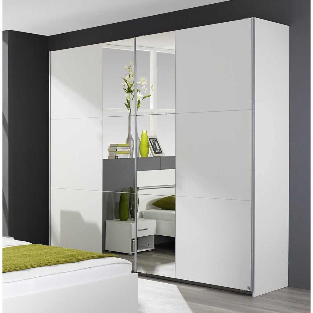 ASSEMBLY INCLUDED Rauch 'Fellbach' German Made Bedroom Furniture. White, [product_variation] - Freedom Homestore