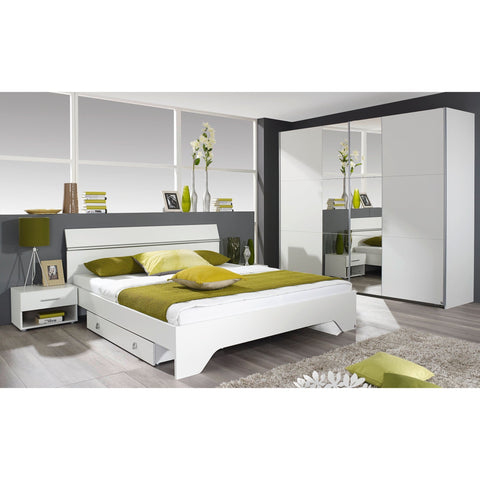 Rauch 'Fellbach' Range German Made Bedroom Furniture. White Finish, [product_variation] - Freedom Homestore