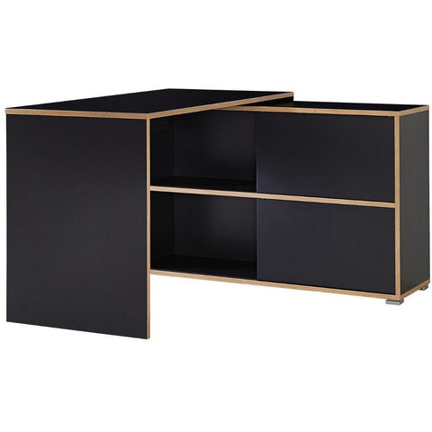 Germania 'Slide' Reversible-Door L-Shape PC Computer Corner Desk With Storage, [product_variation] - Freedom Homestore